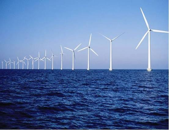 Over half offshore wind power investment directed projects will be in UK and China by 2025